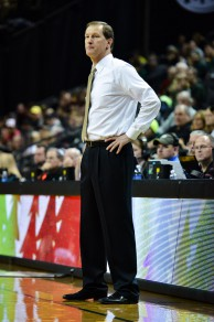 Dana Altman is looking to reach the NCAA Tournament for the second straight season as UO head coach.