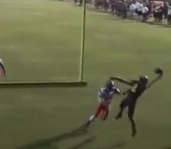 Oregon Recruit Jalen Brown makes an incredible TD catch