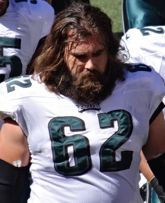 Jason Kelce, the right kind of lineman