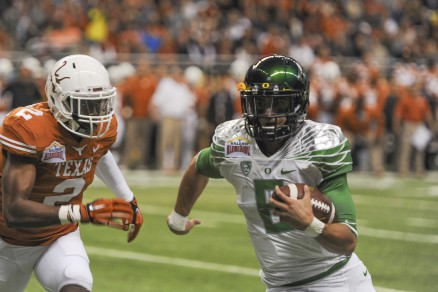 Texas head hunter closes in on Marcus Mariota.