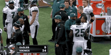 DeSean in an off-the-field altercation