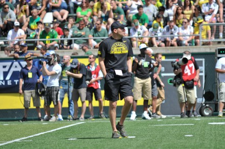 Helfrich understands the role the offense played in building the program