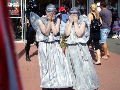 It's enough to make the angels weep.  Not Charlie's Angels, of course, but Corvallis angels