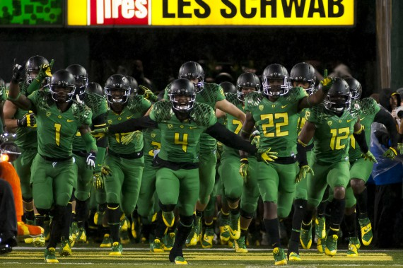 Ducks against Cal