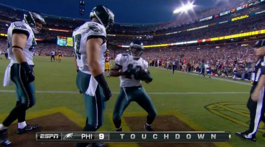 DeSean's TD Dance vs. Washington