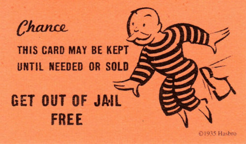 Good for One Free Felonious Indiscretion