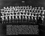1967 Oregon Football Team Courtesy University of Oregon Libraries- Digital Collections