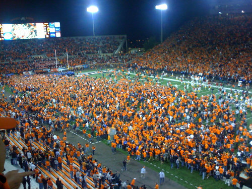 This was the scene that night when the Beavers realized that their 19 point loss to the Lobos covered the spread
