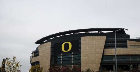 Autzen is by far the smallest stadium amongst the other schools