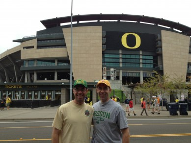 Autzen Stadium is beautiful to look at and attracts fans and recruits from all over
