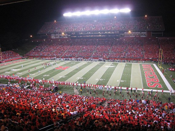 Rutgers Stadium became High Point Solutions Stadium in 2011.