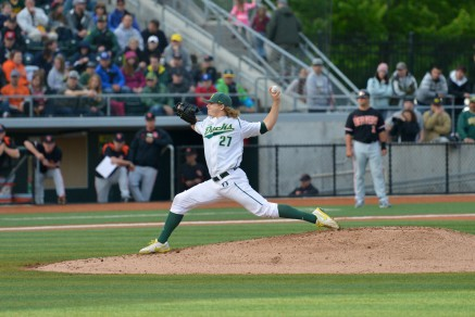 Tommy Thorpe played a key role in keeping the Ducks' pitching staff afloat all year.