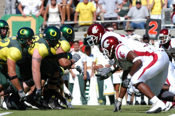 Washington State got after Oregon early and often in their 2003 matchup