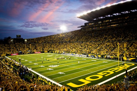 Autzen Stadium, although small, is a tough environment for opposing teams