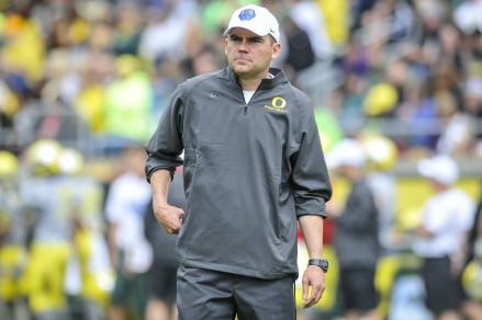 Mark Helfrich liked what he saw from Allen this spring.
