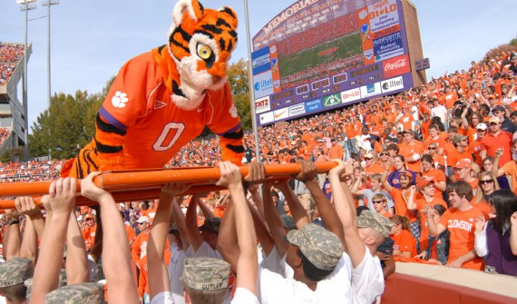 Clemson TIgers on game day