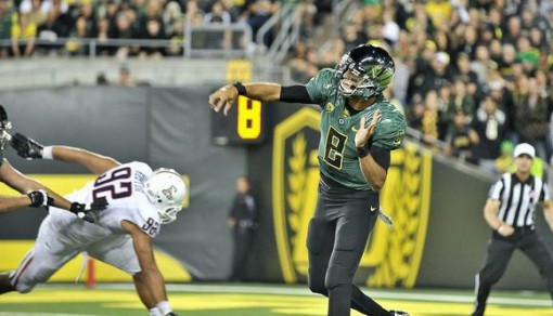 Mark Helfrich had the foresight to offer Marcus Mariota a scholarship on-spot
