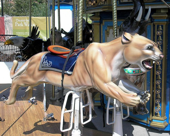 Pitt the Panther Carousel