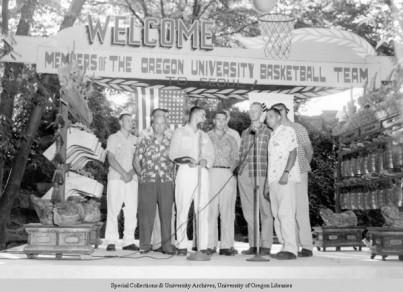 1954 Oregon Basketball's Tour of Asia