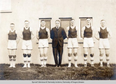 The 1919 Oregon Basketball Team