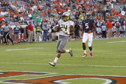 The first of many Thomas Tyner touchdowns, with more to come