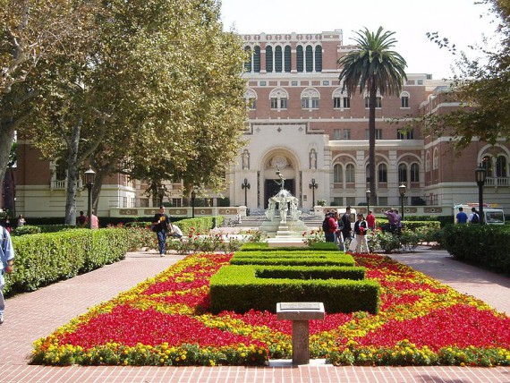 """Contrary to urban legend, USC does not stand for """"University of Spoiled Children."""""""