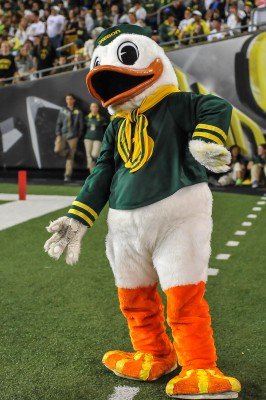 oregon university mascot football duck puddles ducks mascots donald clip state college door quack baseball fishduck recruiting knocking analysis team