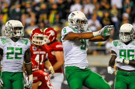 The Ducks are pumped up to take on the Spartans on Saturday