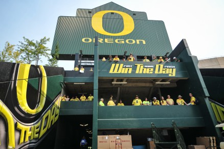 "Oregon is set on ""winning the day"""