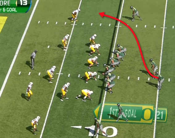 Typical OZR or Sweep Read formation