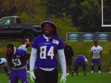 Cordarelle Patterson, feared by Eagles