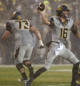 QB Jared Goff is better than ever for Cal this season.