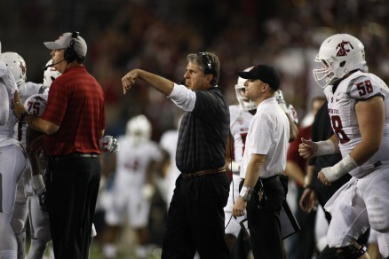Mike Leach is ready to get things going.