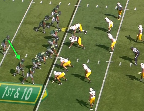 Note the beginning position of Marshall.