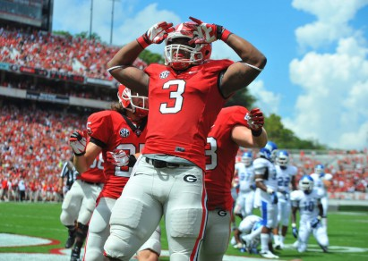 Gurley looked like a clear Heisman favorite after his Week 1 performance.