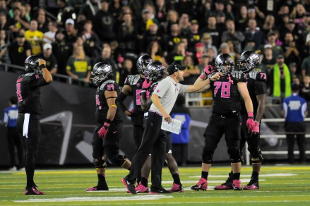 Mark Helfrich dropped just his third game in 18 starts as a head coach.
