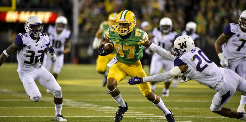 Darren Carrington, Oregon Ducks