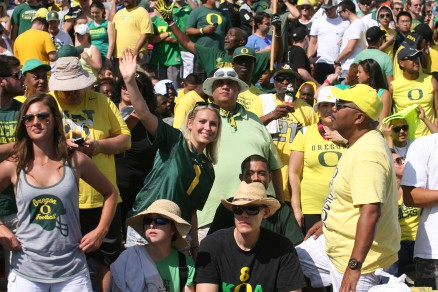 Who loves being an Oregon football fan?