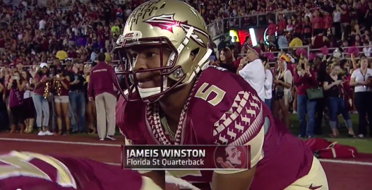 Jameis Winston helped lead Florida State to their 23rd straight win after beating Notre Dame 31-27.