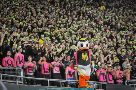 Eating Crow--Proud Ducks fans were eventually silenced in the Autzen upset.