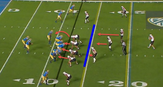 Watch for the battle in the trenches between the Oregon O-line and the Utah front seven to be key