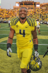 Erick Dargan nabbed seven picks for the Ducks, and they will need to replace his production.