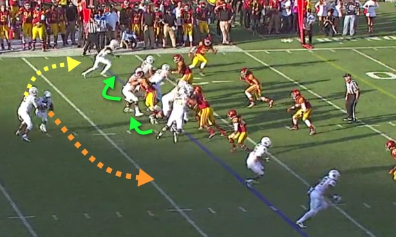 It is not a bluff, as Oregon WILL run the QB Sweep!