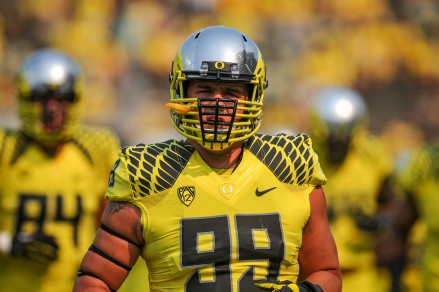 Sam Kamp has stepped up this year for the Ducks