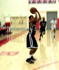 Screenshot of Kendall Smalls BallisLife mixed tape.
