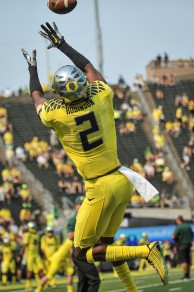 Ducks jump to No. 2 in the college football playoff rankings.