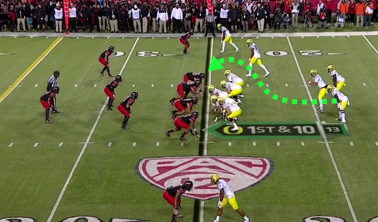 A hook block from a RB in the Straddled Triple Option formation?