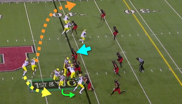 It's a QB Sweep Read...or a RB Bootleg?