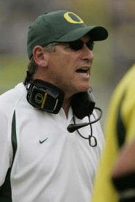 Mike Bellotti helped Oregon reach the top five for the first time in school history
