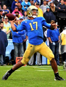 Brett Hundley and the UCLA offense were shut down against Stanford to end their Pac 12 Championship hopes.